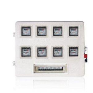 供应大华牌SMC插卡电表箱 户外防水玻璃钢动力箱 变压器防护套罩