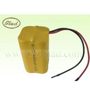 供应4.8V 800mAh优质太阳能电池 发泡镍工艺镍镉电池