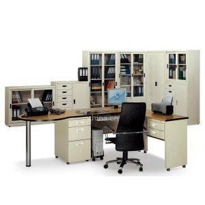 合信厂价直销钢制办公家具 办公桌 电脑桌 文件柜 办公椅