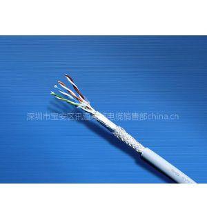 供应讯道电脑线网络线超五类双屏蔽网线560
