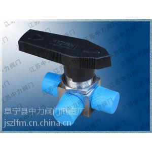 供应Q93F矿用L型卡套式换向三通高压不锈钢球阀