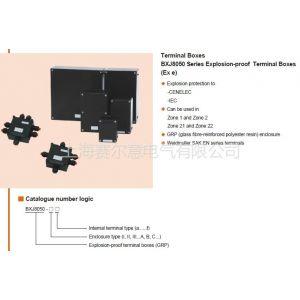 BXJ8050防爆防腐接线箱ATEX认证 出口认证IECEx Ex e粉尘气体双保险接线箱