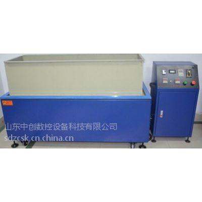 供应大型平移式磁力抛光机专业去毛刺设备
