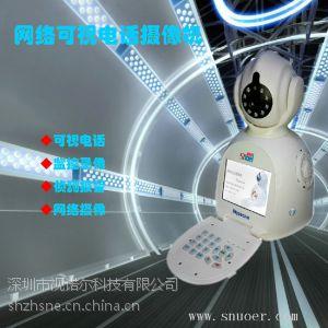 供应不分网络 、无需动态域名、可视频通话 远程监控 网络电话摄像机