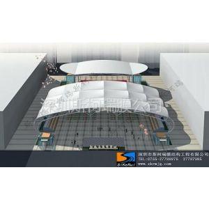 供应桂林网球场张拉膜工程施工