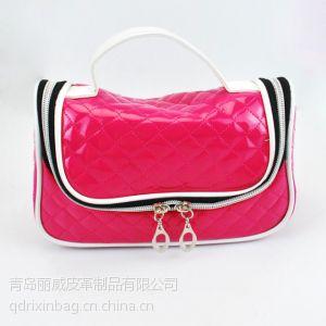 供应青岛化妆包订购 时尚化妆包生产厂家 韩版化妆包供应商