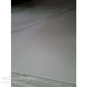 供应长期供应环保哑白PVC片材