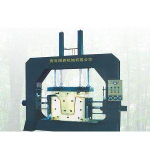 供应青岛国森高频三向弯曲木热压机