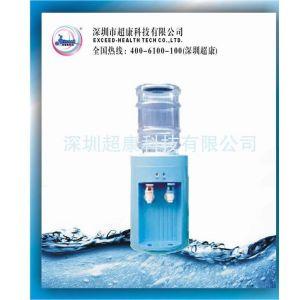 供应超康迷你型饮水机 蓝色圆桶饮水机 8杯水迷你机 可加热迷你饮水机