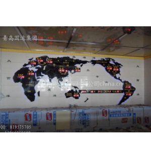 供应新建酒店背景墙装饰案例-大型酒店钟(新款世界时钟)