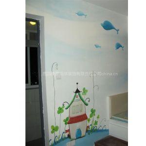 供应南昌儿童房彩绘,美家手绘墙