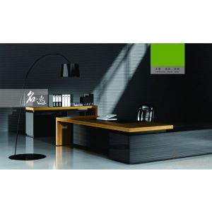 供应众晟家具ZS-EX-048高端实木老板办公桌