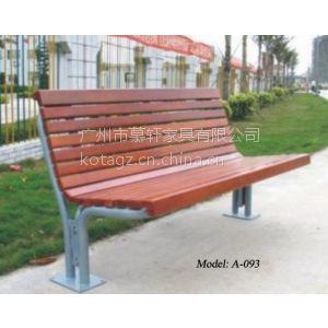 供应水洗石有靠背校园休闲椅 步行街休闲椅厂家 广州公园椅价格