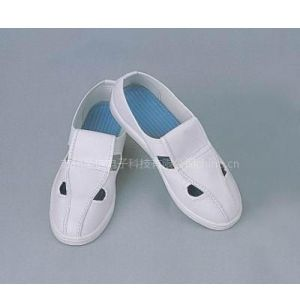 供应白色防静电四孔鞋