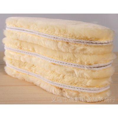 厂家直销 仿羊毛鞋垫 皮毛一体 毛厚2CM 自由选码 保暖抗寒