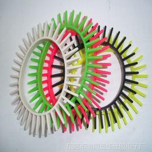 供应韩版时尚新品 造型可爱的 齿轮硅胶手链手镯 畅销产品