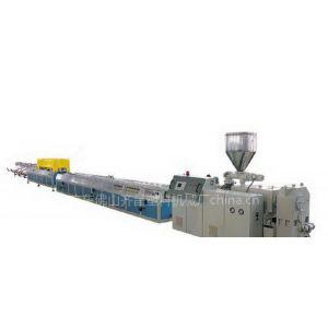 供应单螺杆木塑型材生产线