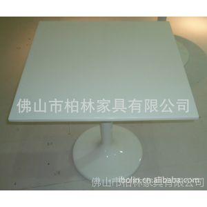 供应方桌 玻璃钢餐桌 餐厅餐桌 时尚餐桌(玻璃钢)