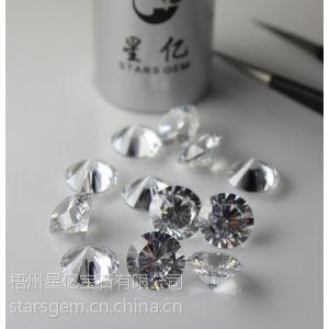 供应十六心十六箭锆石宝石优质