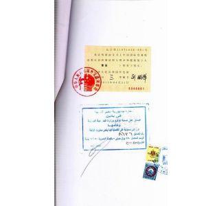 埃及CI大使馆认证操作流程