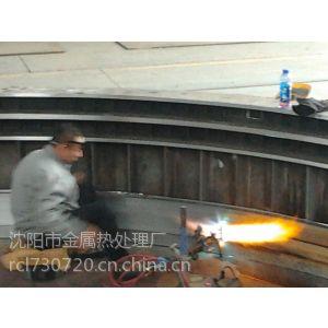 100吨门座大针轮支撑环内壁表面火焰淬火