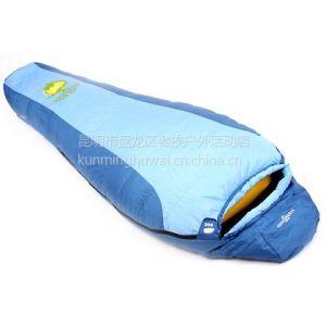 睡袋图片 双人睡袋供应 香格里拉睡袋批发 迪庆加厚睡袋 云南迪庆双人羽绒睡袋供应