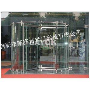 供应专业设计银行玻璃门 酒店手推旋转门 酒店自动旋转门 北京宾馆手推旋转门采购安装