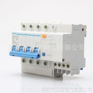 供应正泰漏电断路器保护器空气开关 DZ47LE-32 4P 10~32A