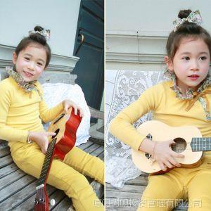 供应童装批发 爆款 2013韩版女童秋装打底衫时尚花边上衣 老厂低价