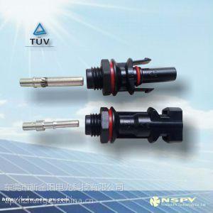 供应太阳能MC4类板端连接器