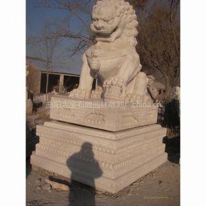 供应河北石雕狮子定制