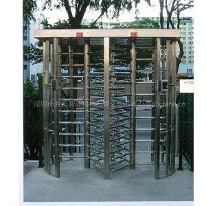 供应罗拉智能苏州上海南京徐州宿迁全高旋转闸门十字转闸厂家安装