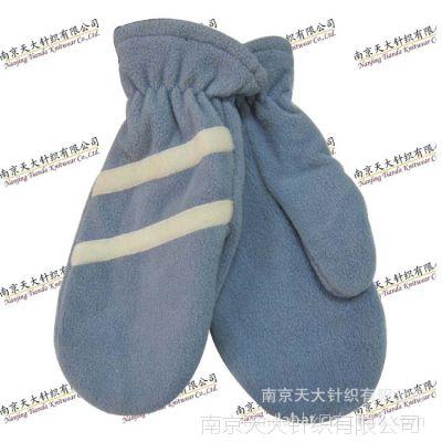 天大针织专业生产订做手套 摇粒绒连指手套 欢迎来图来样订制