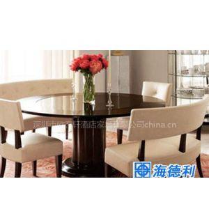 供应酒店餐桌模型/酒店餐台/酒店餐桌家具