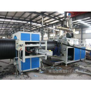 PE钢带缠绕管单螺杆挤出机 生产线 青岛佳森产量高