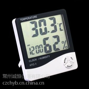 供应数字显示液晶屏温湿度表价格