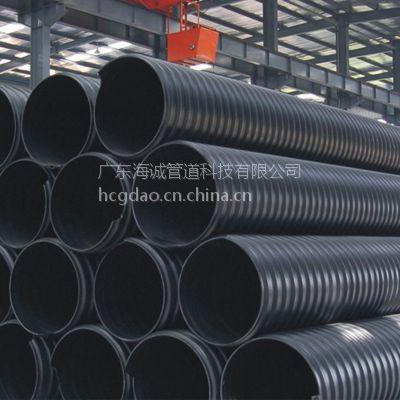排水排污管钢带增强聚乙烯(PE)螺旋波纹管600*SN12.5