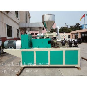 供应张家港供应SJZ 锥形双螺杆塑料挤出机