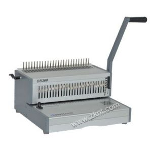 供应批发零售金图CB-360胶圈装订机 梳式打孔机 梳式装订机