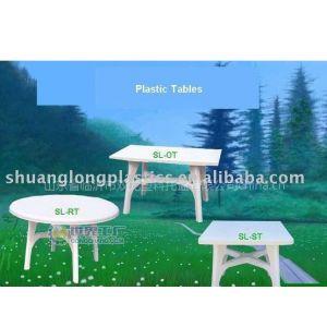 供应黑龙江内蒙古辽宁塑料烧烤桌椅餐桌