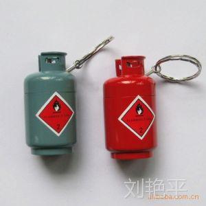 供应迷你煤气瓶挂件金属明火打火机(5元内打火机)