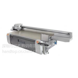 供应汉拓数码UV平板打印机/理光喷头喷绘机/玻璃打印机/亚克力打印机/广告打印机喷绘机