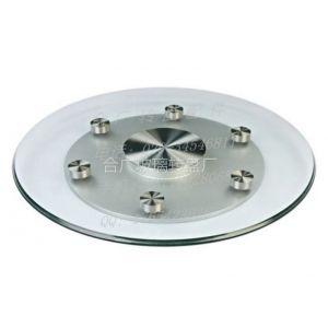 供应大型钢化玻璃转盘、酒店大型餐桌玻璃转盘