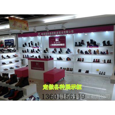 厂家定做各种展示柜  精品男鞋展柜 女装展柜 木质展示柜