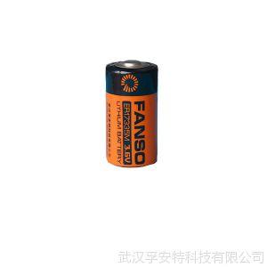 供应ER17335M,孚安特3.6V锂亚电池,巡更棒等用一次锂电池