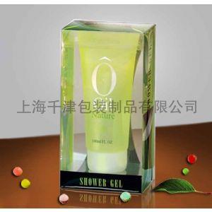 供应彩印塑料透明盒子,PVC化妆品包装盒