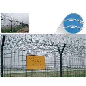 供应 机场护栏网 刀片刺绳围栏网 监狱围栏网