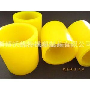 供应常温80度使用黄色耐油聚氨脂胶套|空心壁厚均匀聚氨酯胶管
