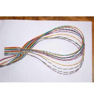 供应UL20184-LT 双绞彩虹排线,扁平彩色排线 电子线,导线,引线,线仔,跳线,线束,彩排线