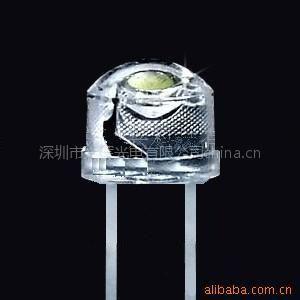 供应5MM大草帽白光LED 1800-2200MCD